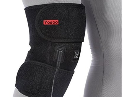 Yosoo Heated Pad Heat Therapy Knee Wrap