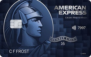 The Blue Cash Preferred Card from American Express