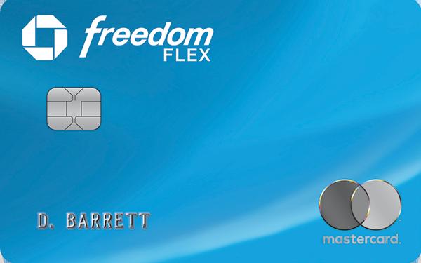 Chase Freedom Flex card