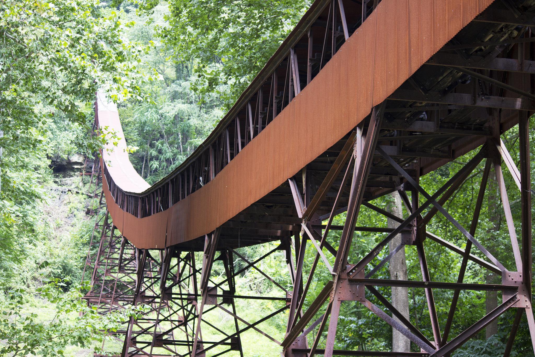 Coal conveyor at Nuttalberg, West Virginia.
