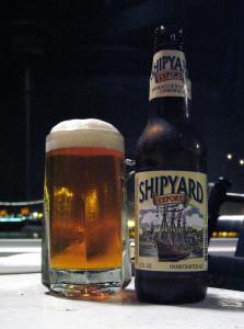 Maine beer Shipyard, export