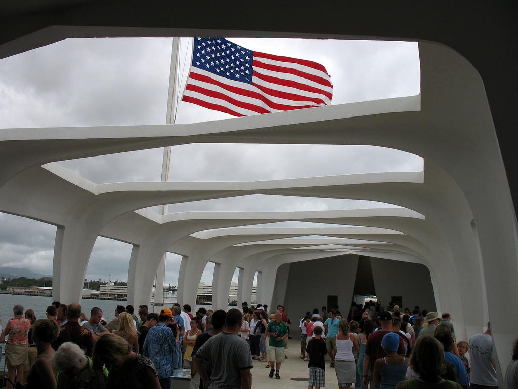 Memorial at Pearl Harbor.