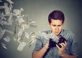 Man Money Leaving Wallet