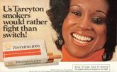 Old Tareyton cigarette ad