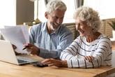 seniors reviewing Medicare Advantage plans