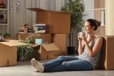 single woman renter homeowner
