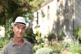 man outside retiree retirement