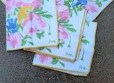 Vintage Vera Neumann napkins
