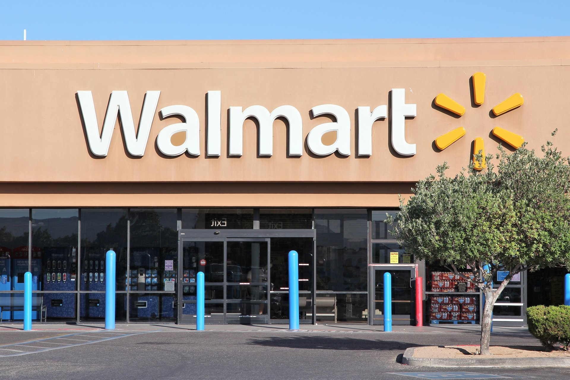 Walmart store in Ridgecrest, California