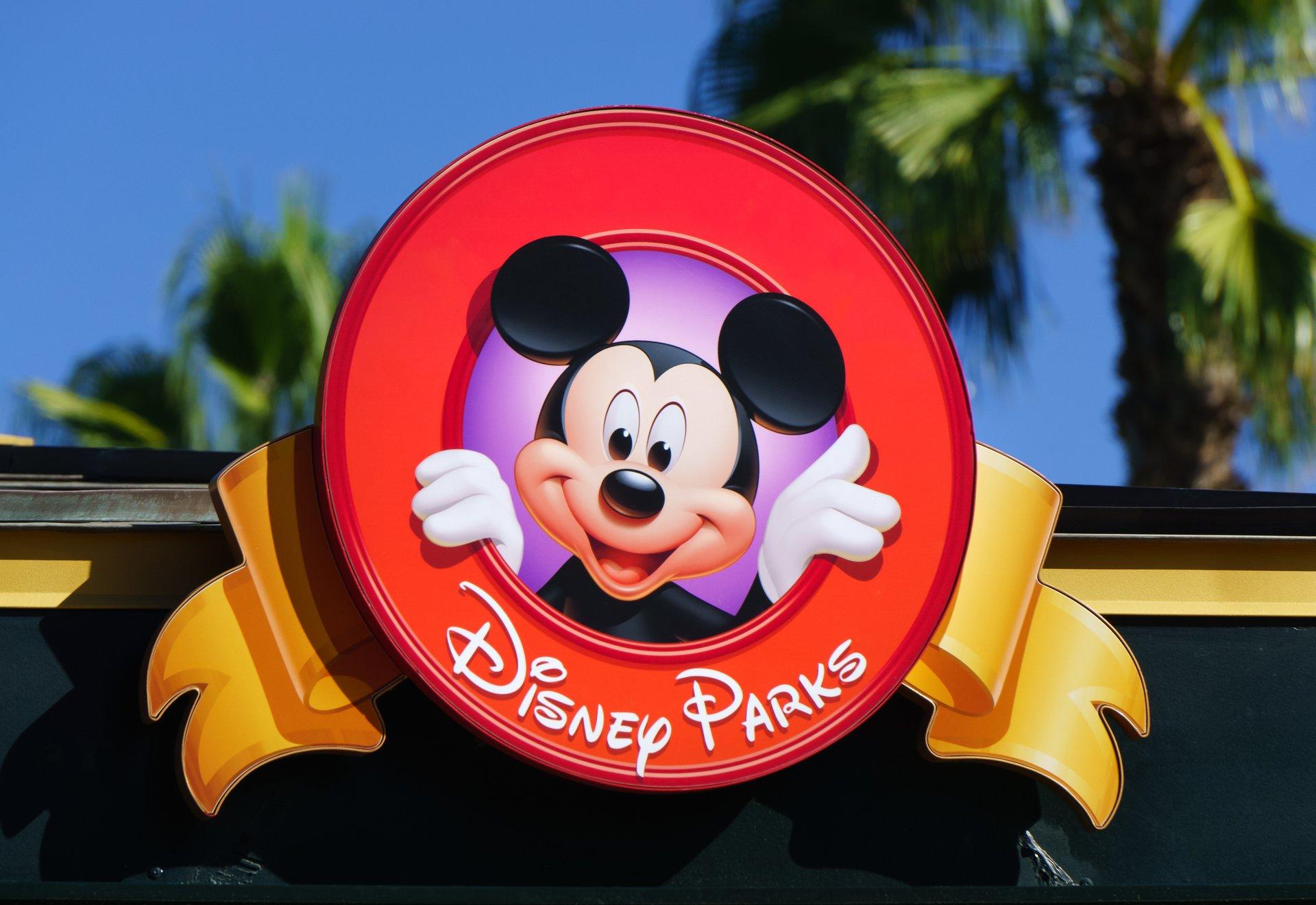 Disney Parks sign.