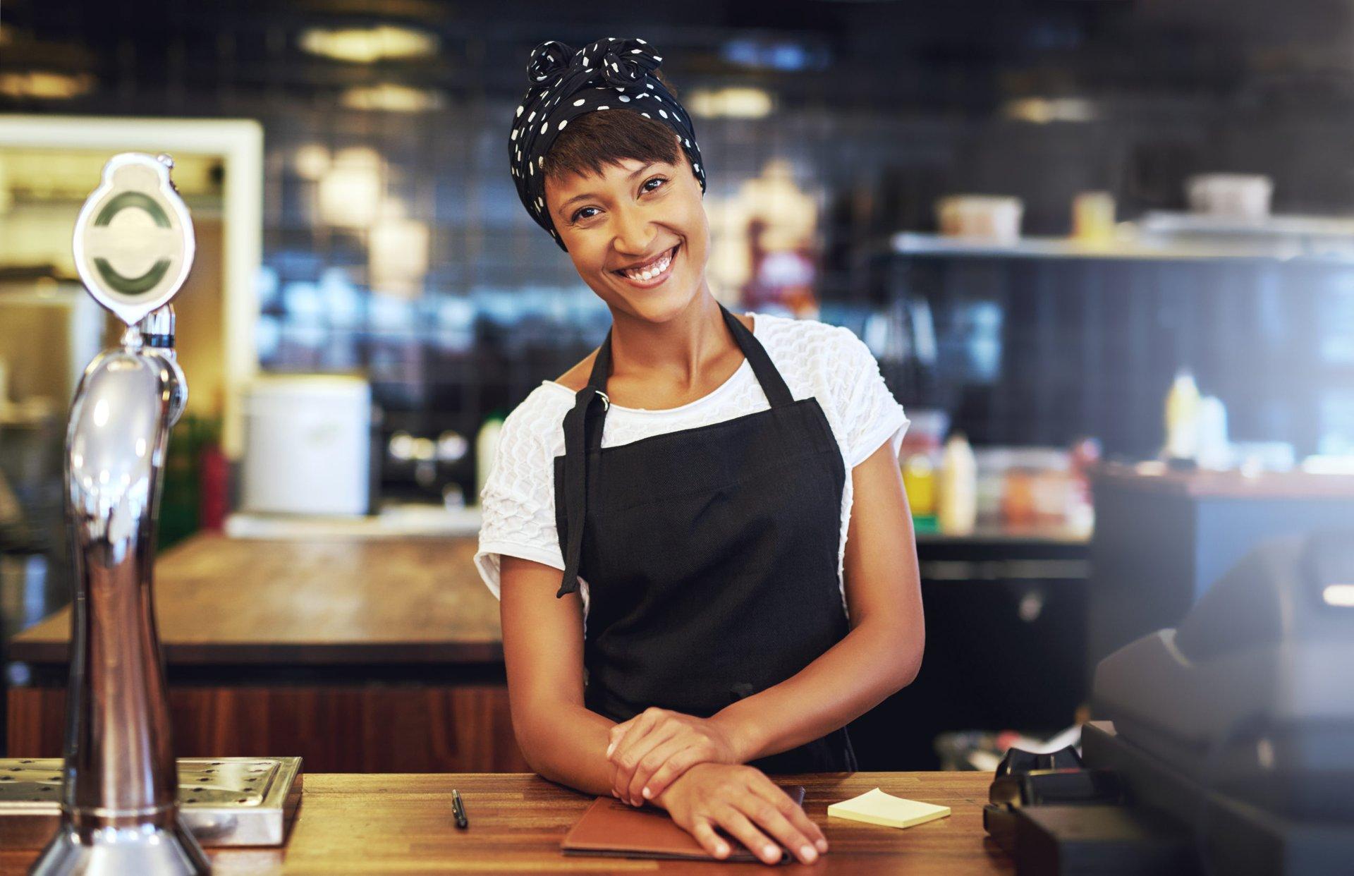 Self-employed restaurant owner