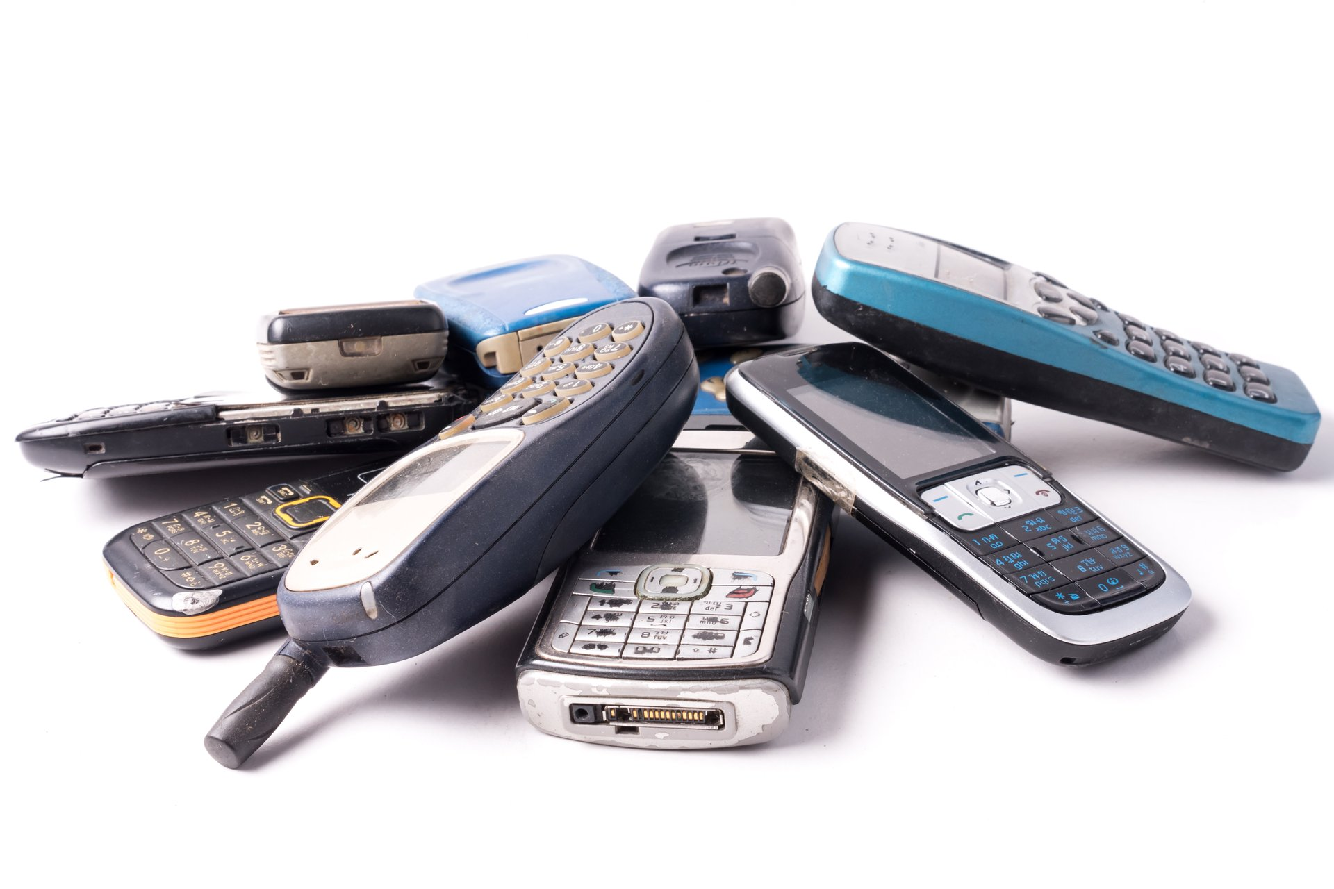 Old Cell Phones, Electronics