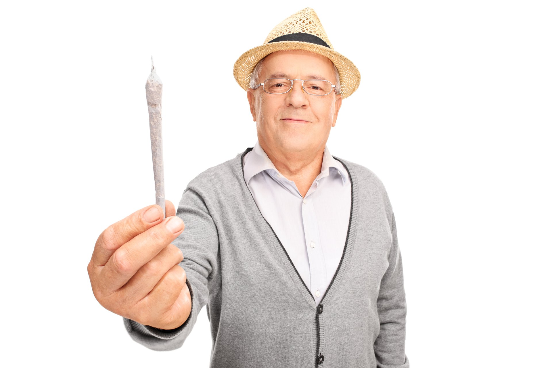 Man Senior Marijuana