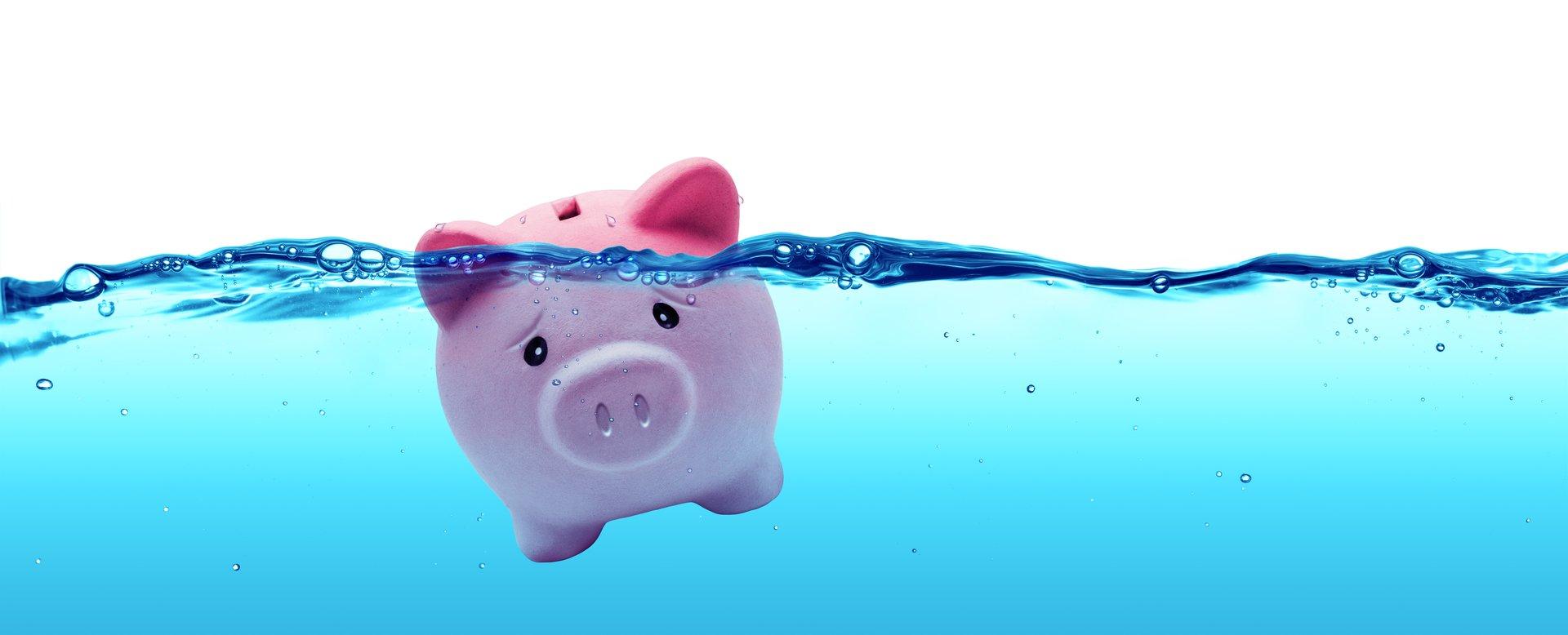 Piggy Bank Drowning
