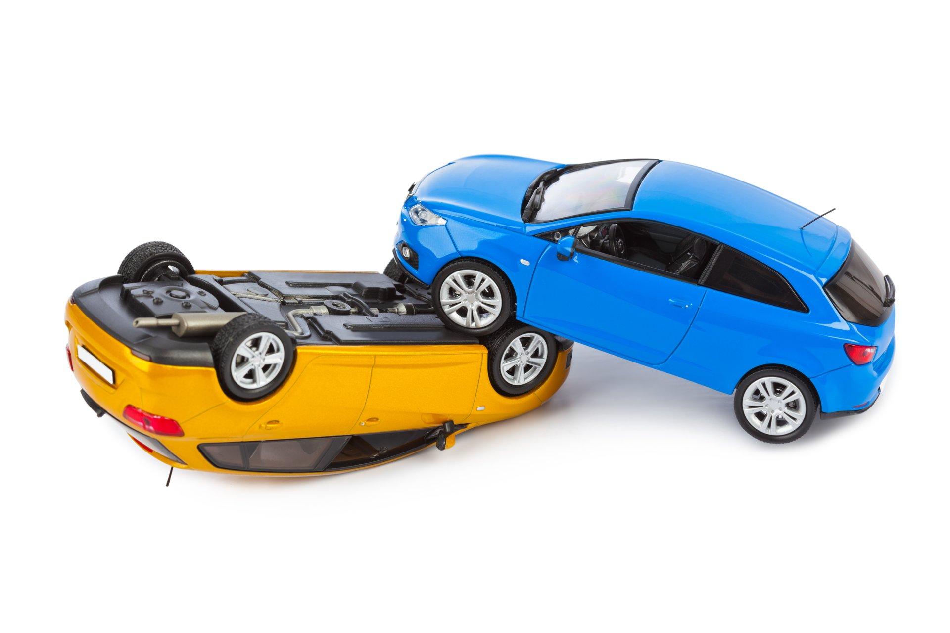 Toy Car Wreck