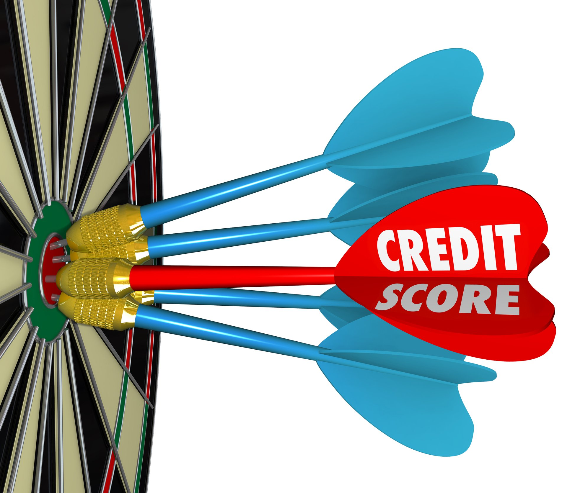 Credit Score Dartboard