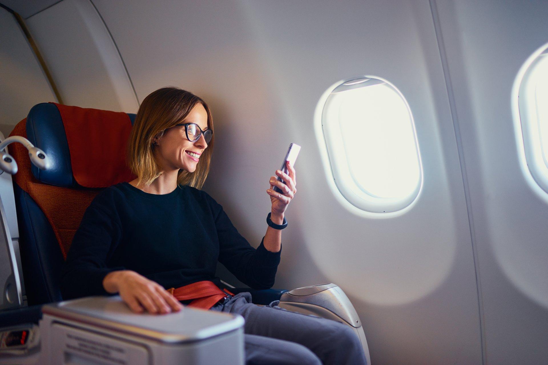 business class passenger
