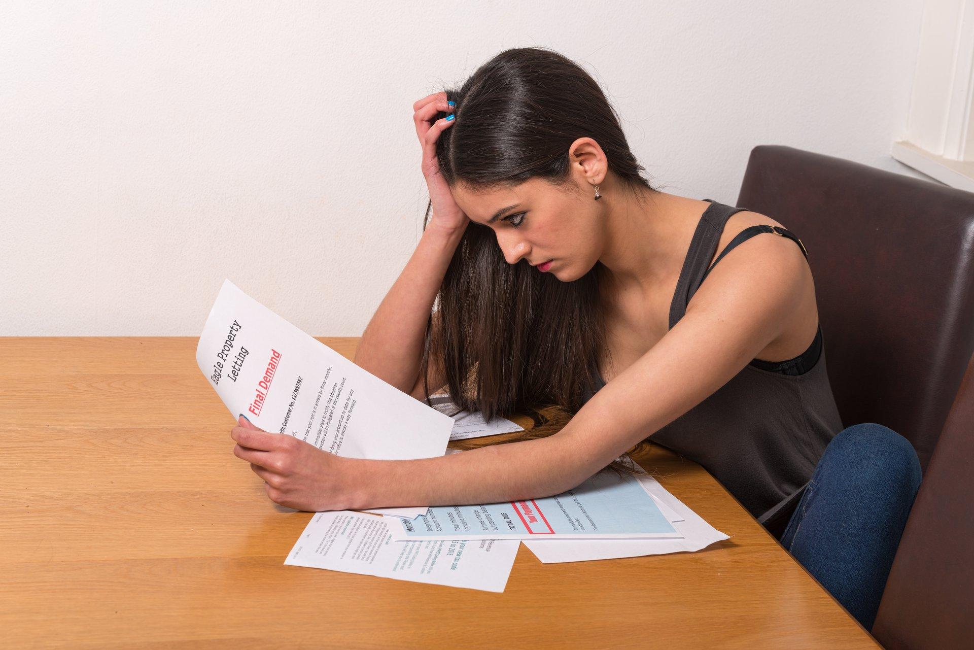 Woman w Paperwork
