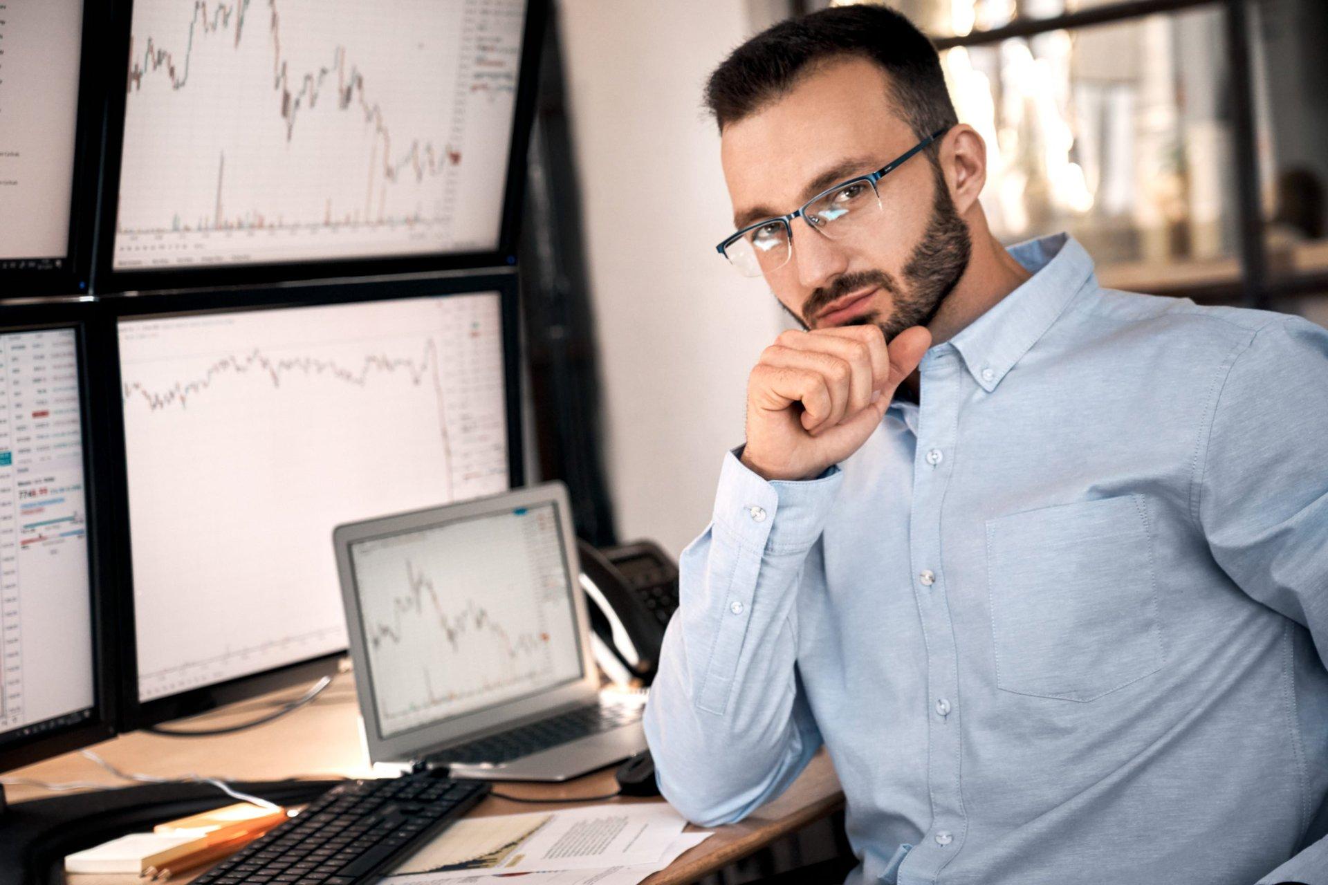 Confident investor