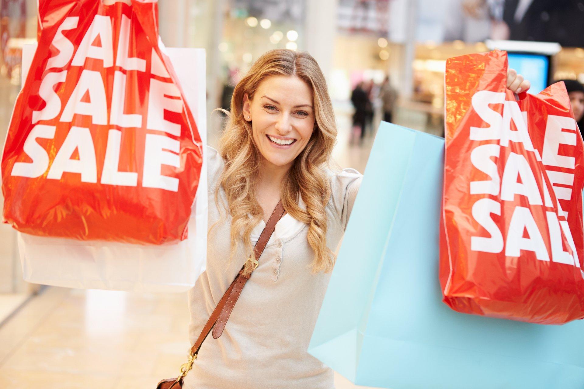 Sale shopper