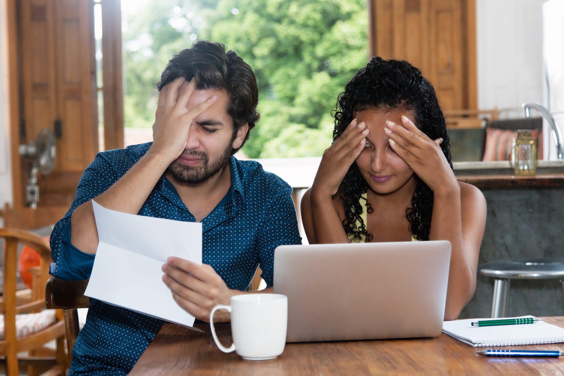 Unhappy borrowers