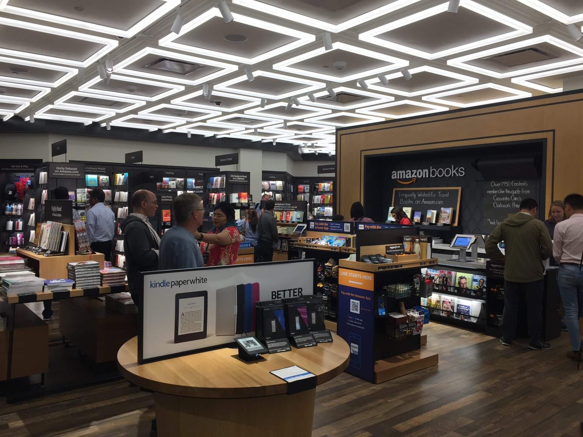 Amazon Books store