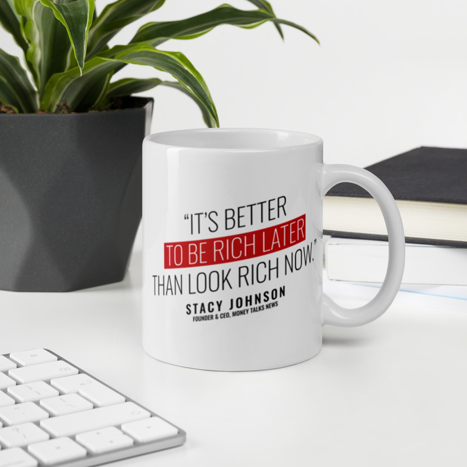 Money Talks News Mug
