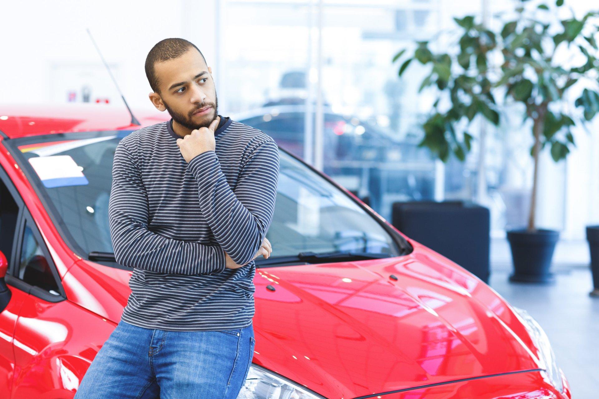 Car shopper unsure about depreciation