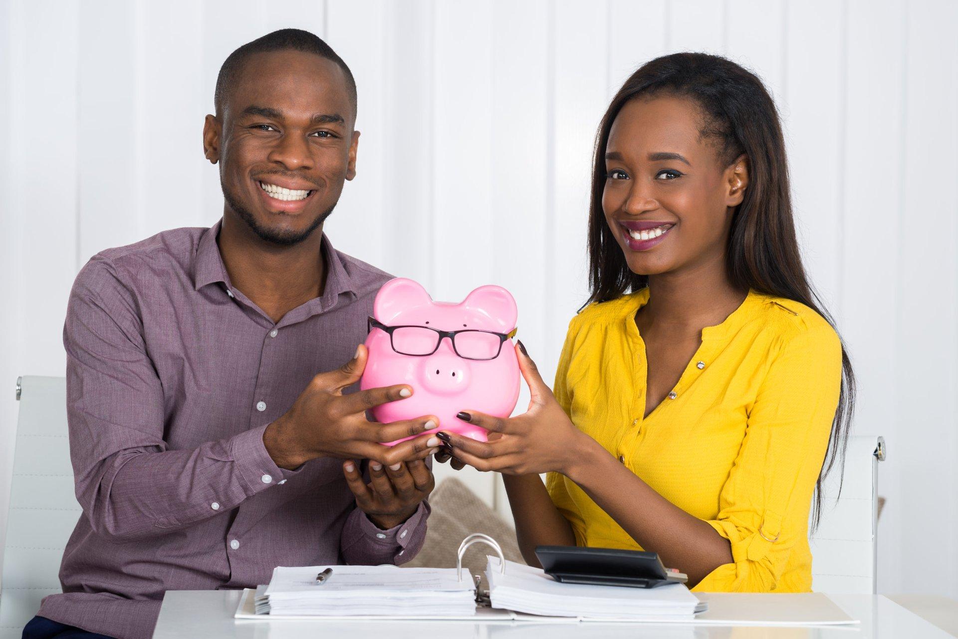 Couple with savings