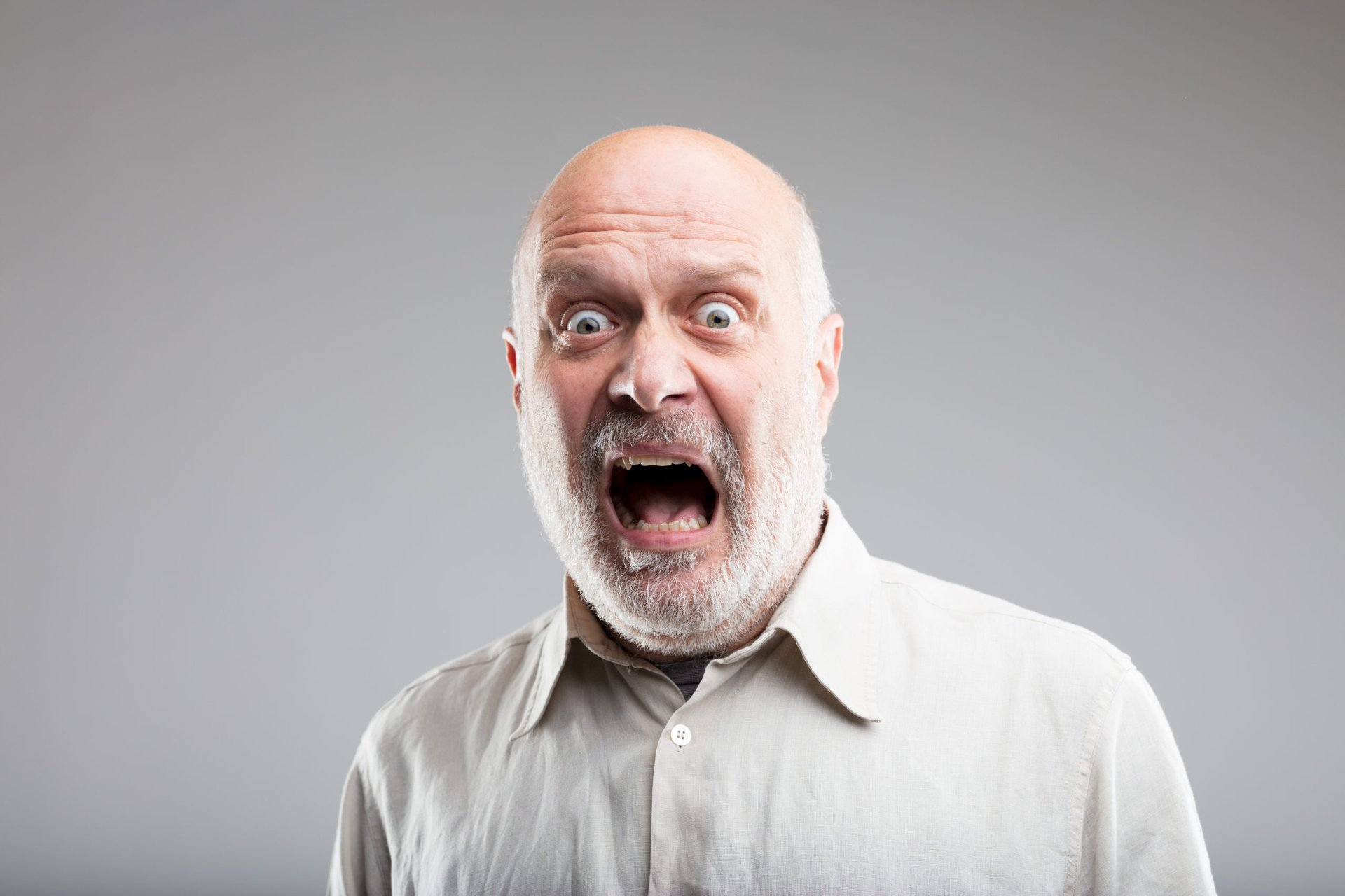 Scared retiree