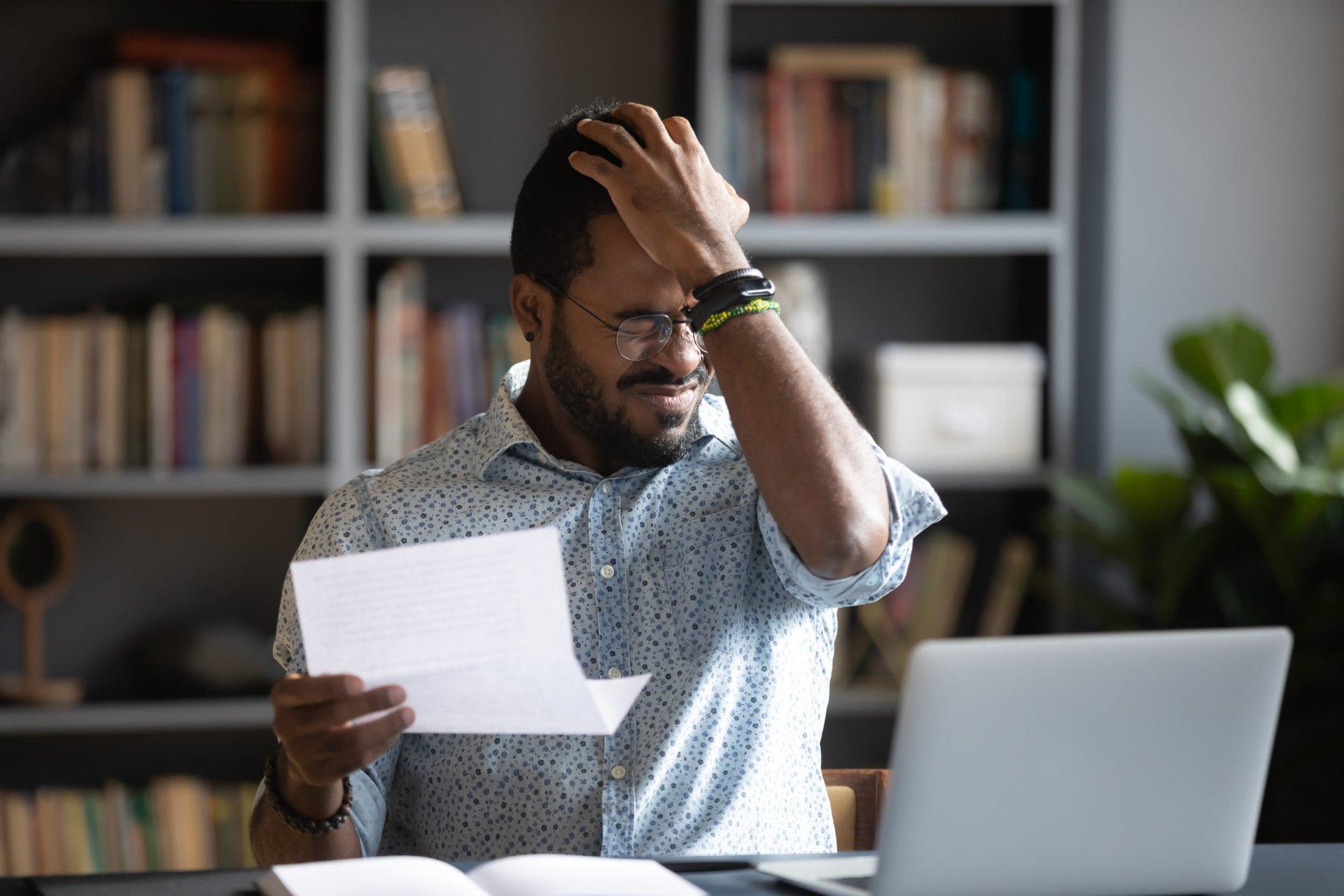 Man upset over bank fee