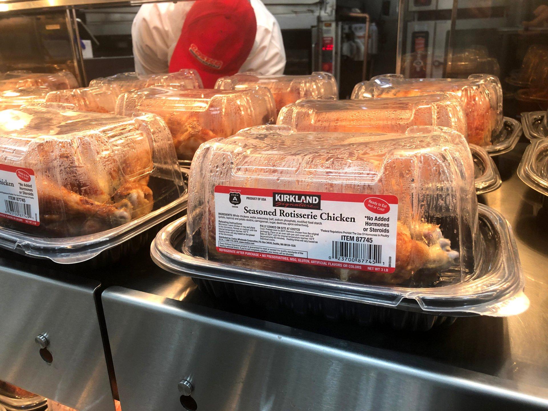 Rotisserie chickens
