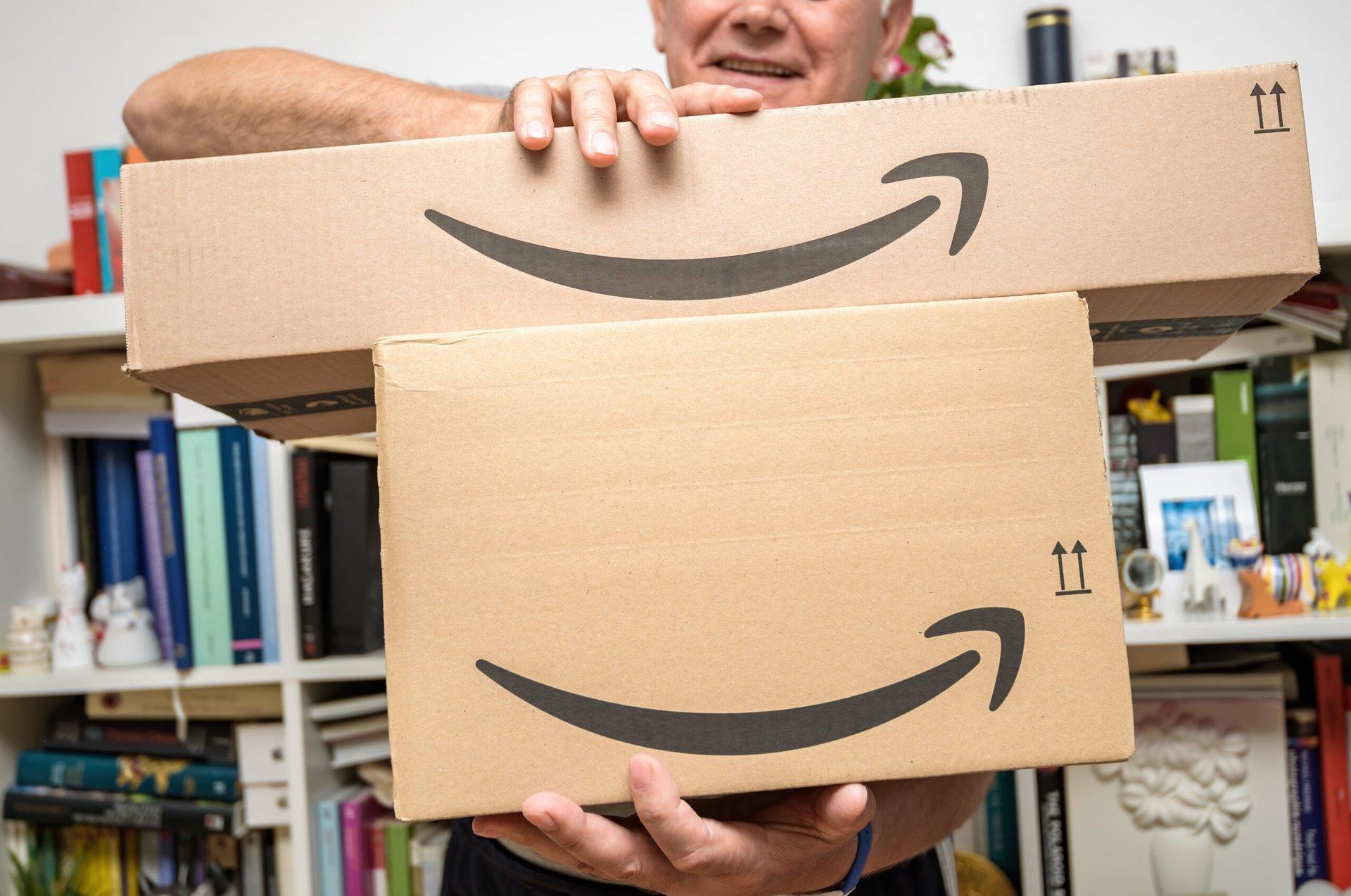 Amazon Prime parcel