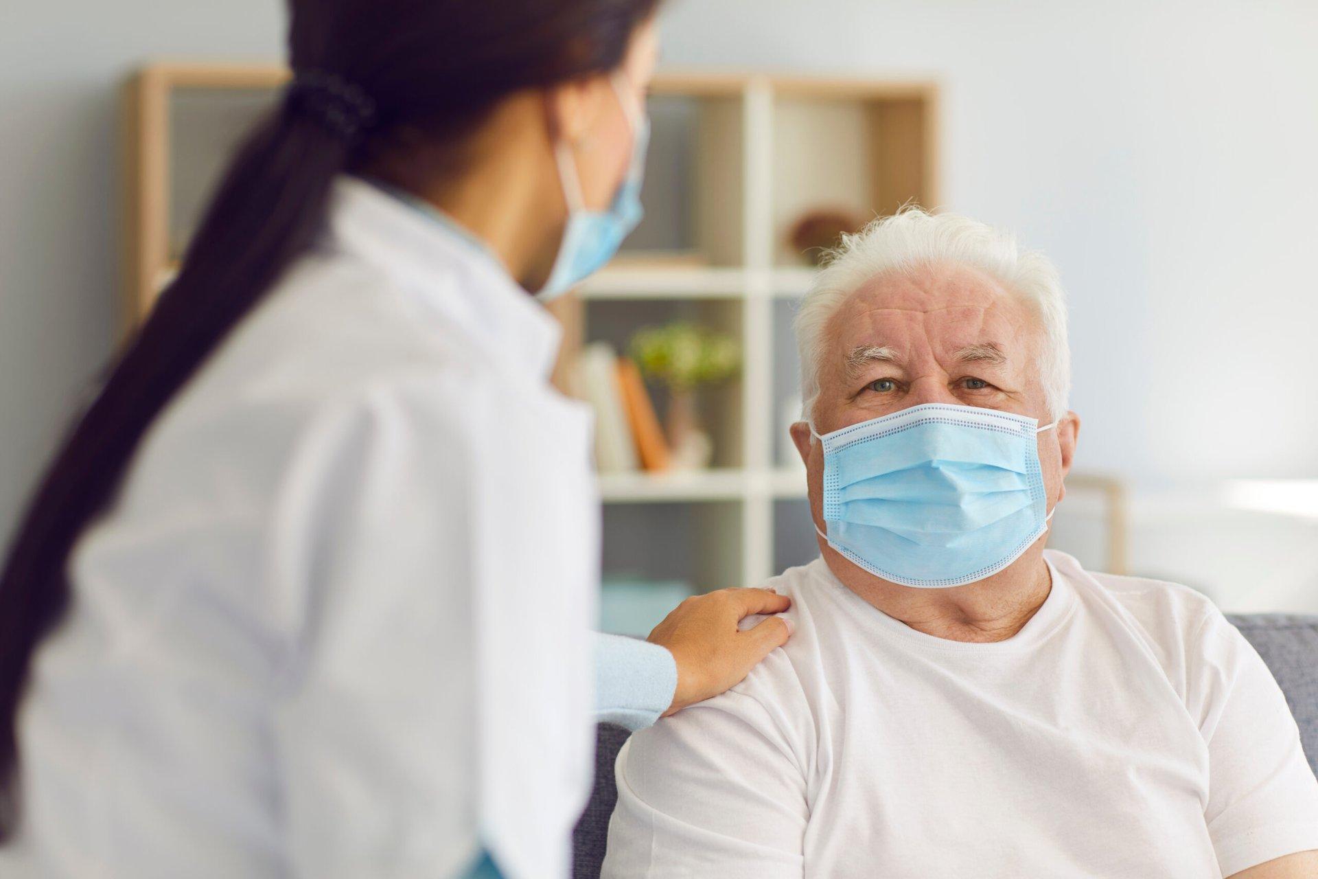 Senior health care patient