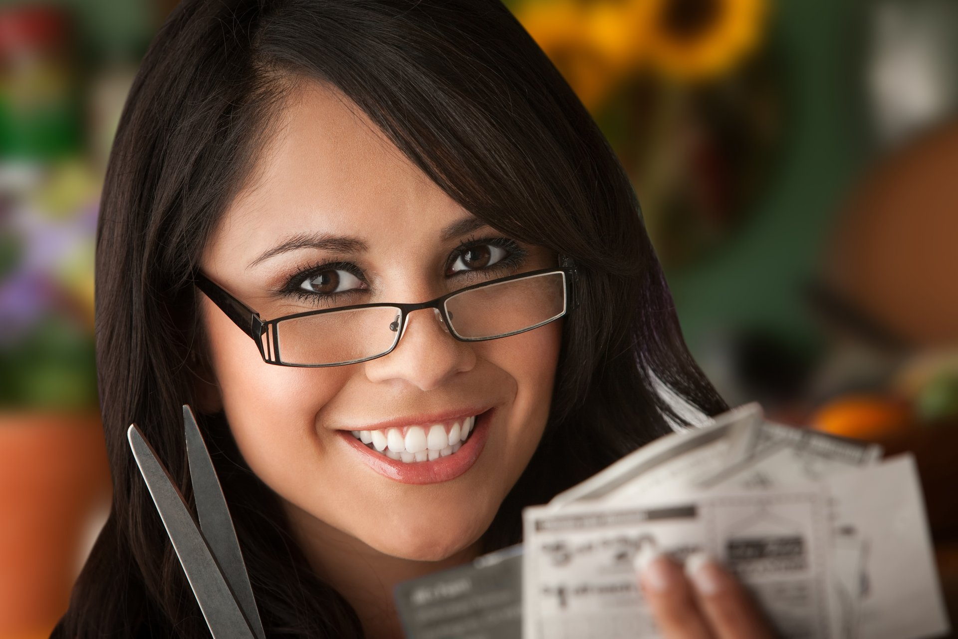 Woman With Coupon