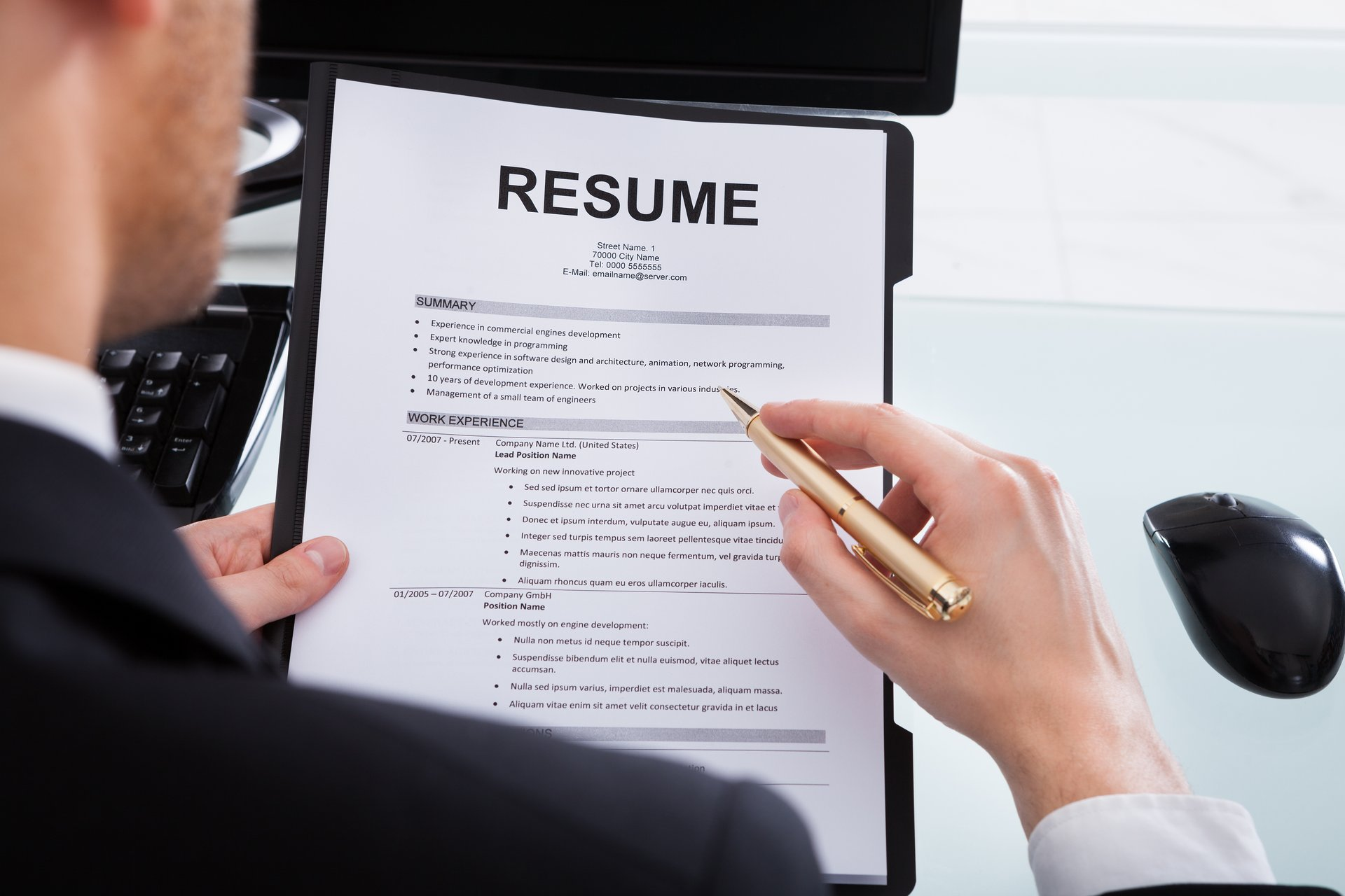 Resume revision