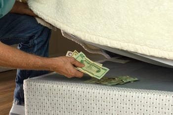 6 Reasons You Should Stop Hiding Cash at Home