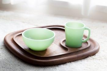 Vintage mug and bowl