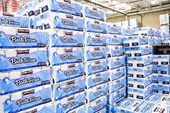 Bath tissue at Costco