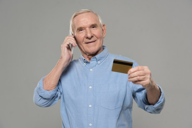 Senior credit card