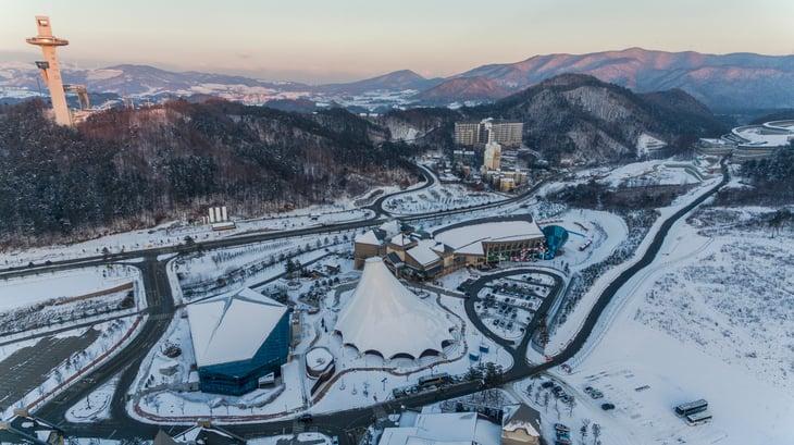 Pyeongchang, South Korea, Olympic facilities