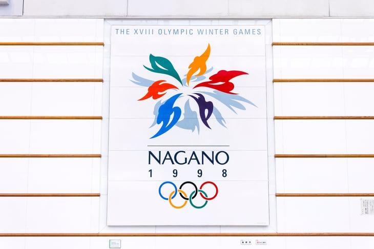 Nagano Olympic sign