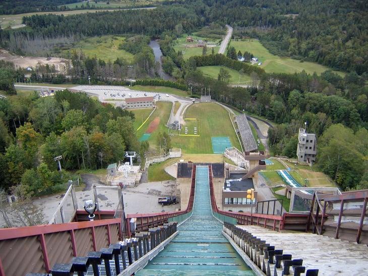 Lake Placid Olympic ski jump