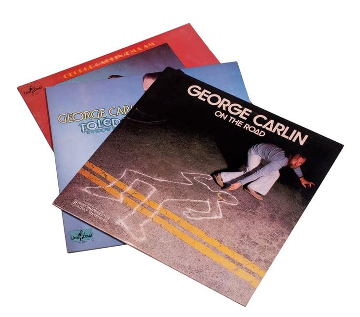 George Carlin records