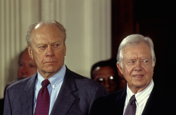 Gerald R. Ford and Jimmy Carter