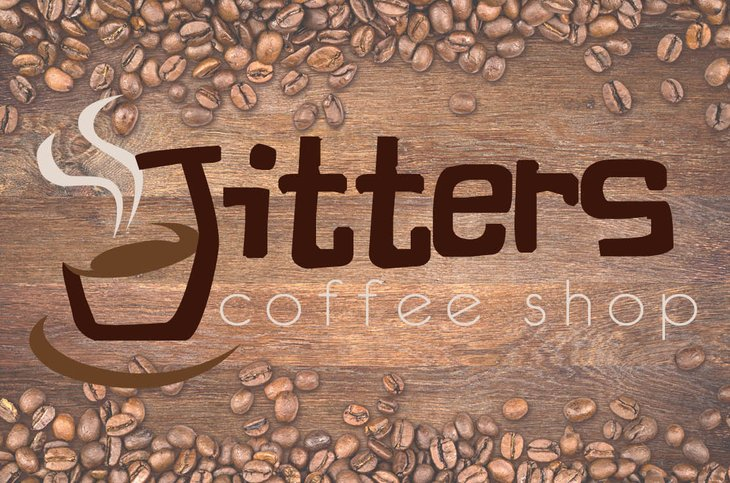 Jitters coffee sign