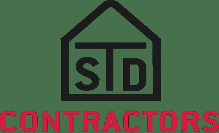 STD Contractors logo.
