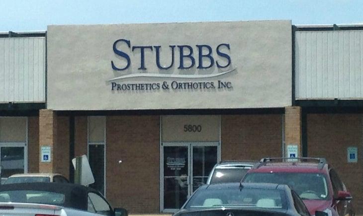 Stubbs storefront.