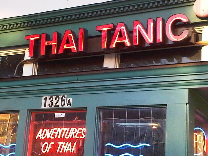 Thai Tanic Restaurant exterior