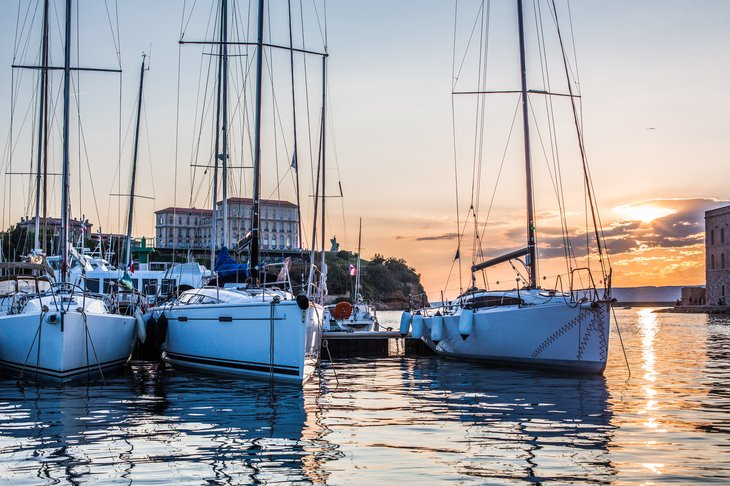 Connecticut marina.